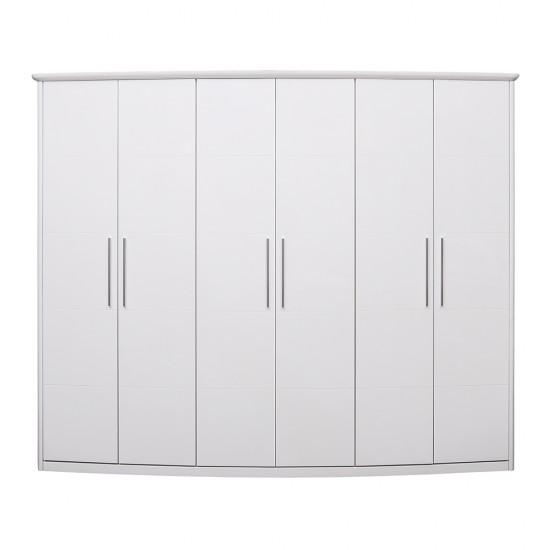 Шкафы распашные 6-х дверные