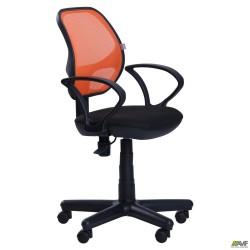 Кресло Бит Color сиденье А-1/спинка Сетка оранжевая