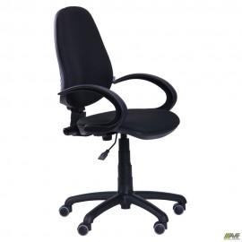 Кресло Поло 50 Розана-17 черный микрофибра
