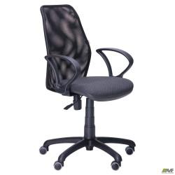 Кресло Oxi/АМФ-4 сиденье Сетка черная/спинка Сетка черная