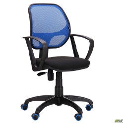 Кресло Бит Color/АМФ-7 сиденье А-1/спинка Сетка синяя