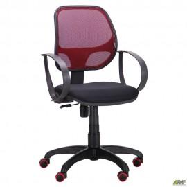 Кресло Бит Color сиденье А-1/спинка Сетка бордовая