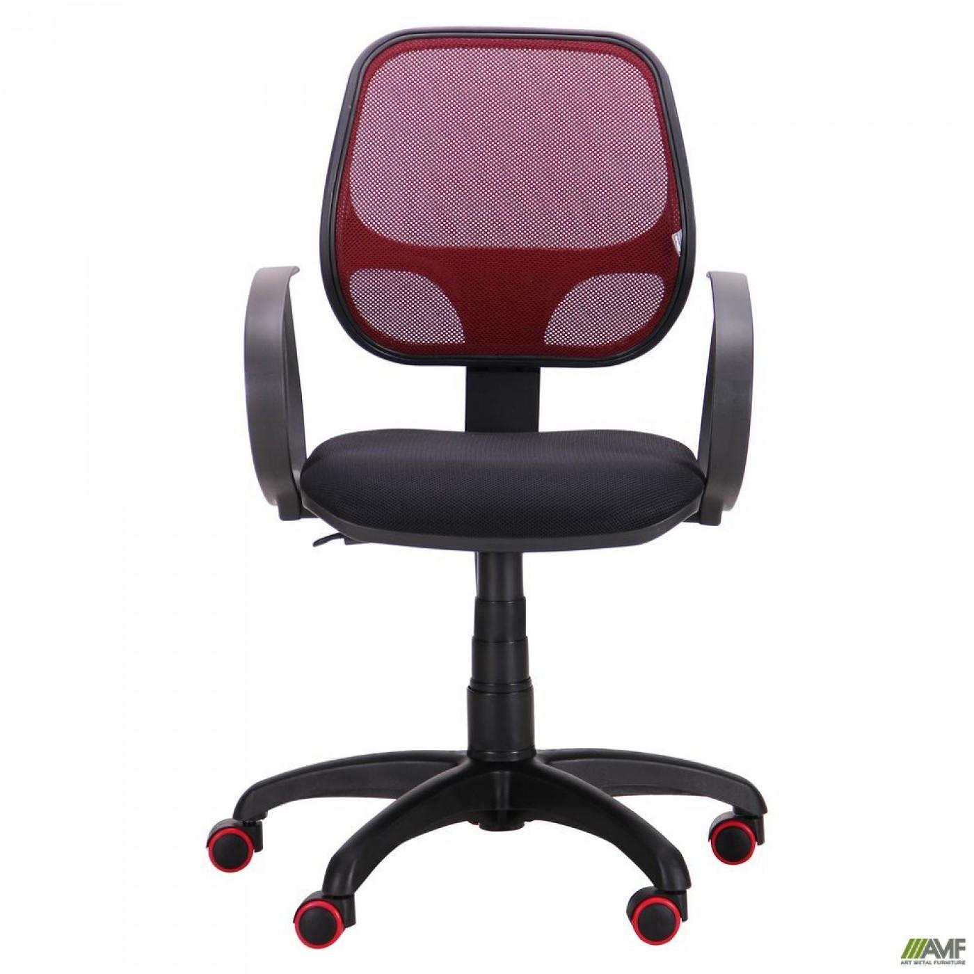 Кресло Бит Color/АМФ-8 сиденье А-1/спинка Сетка бордовая