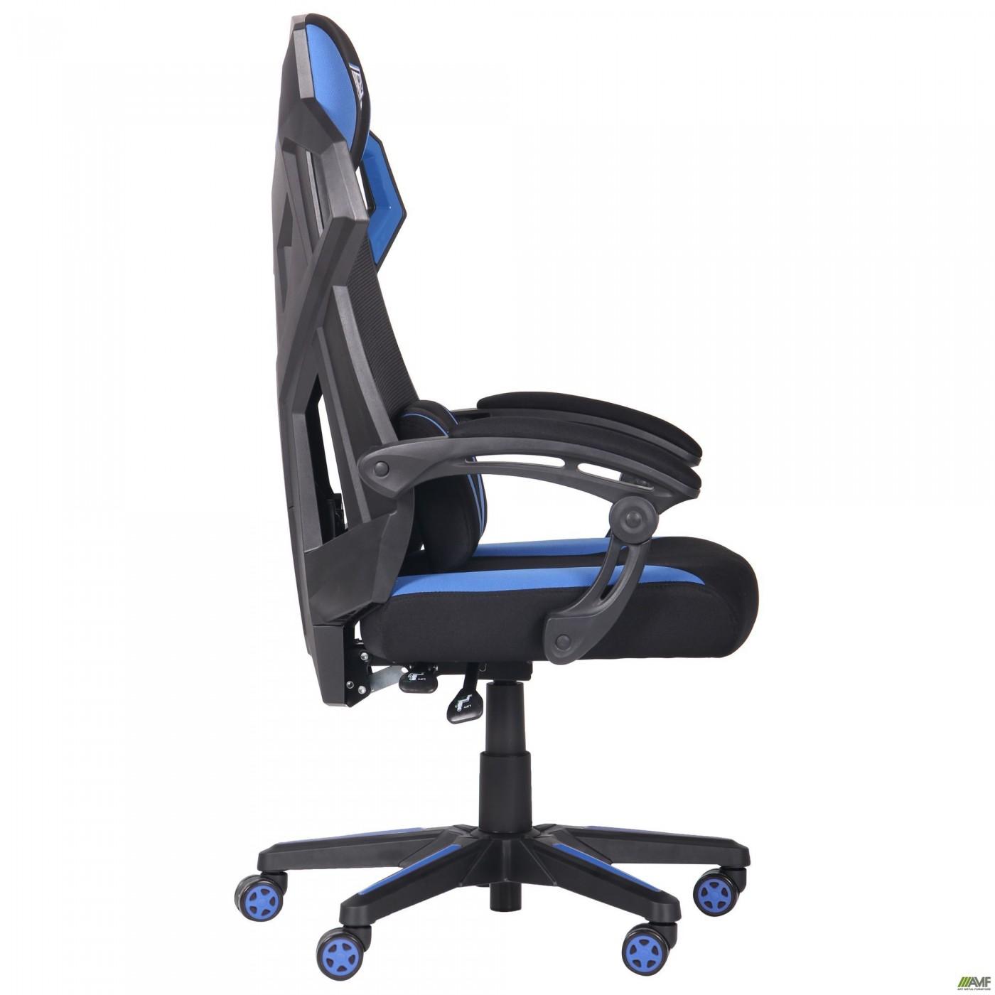 Кресло VR Racer Radical Garrus черный/синий