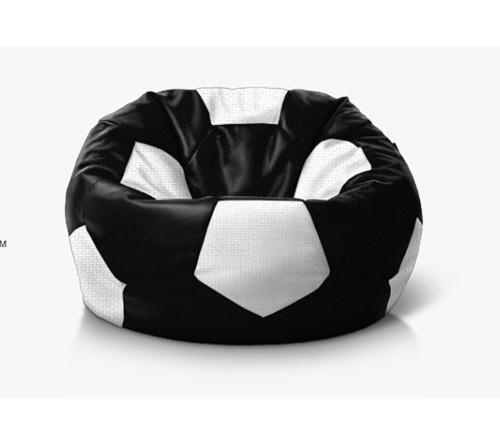 Кресло мешок Мяч (оксфорд) черно-белый