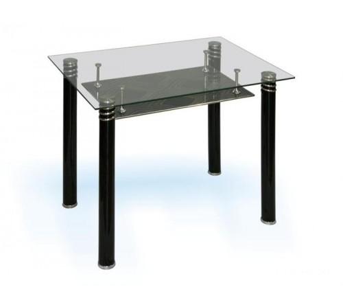 Стеклянный обеденный стол - модель D682