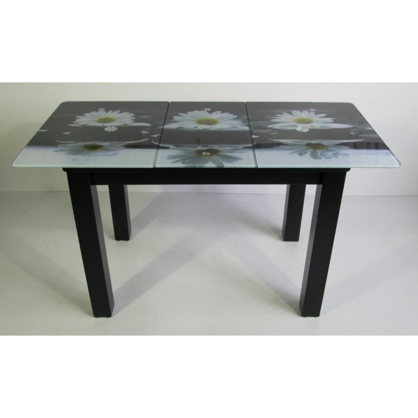 Кухонний МДФ стол «DK-872 раскладной»