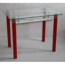 Стеклянный обеденный стол - модель D6811