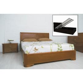 Кровать Милена с интарсией с механизмом