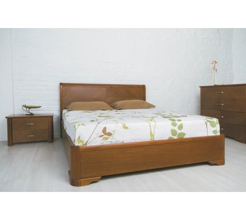Кровать Милена с интарсией