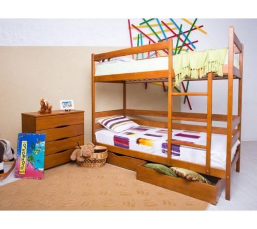 Детская кровать  Амели двухъярусная