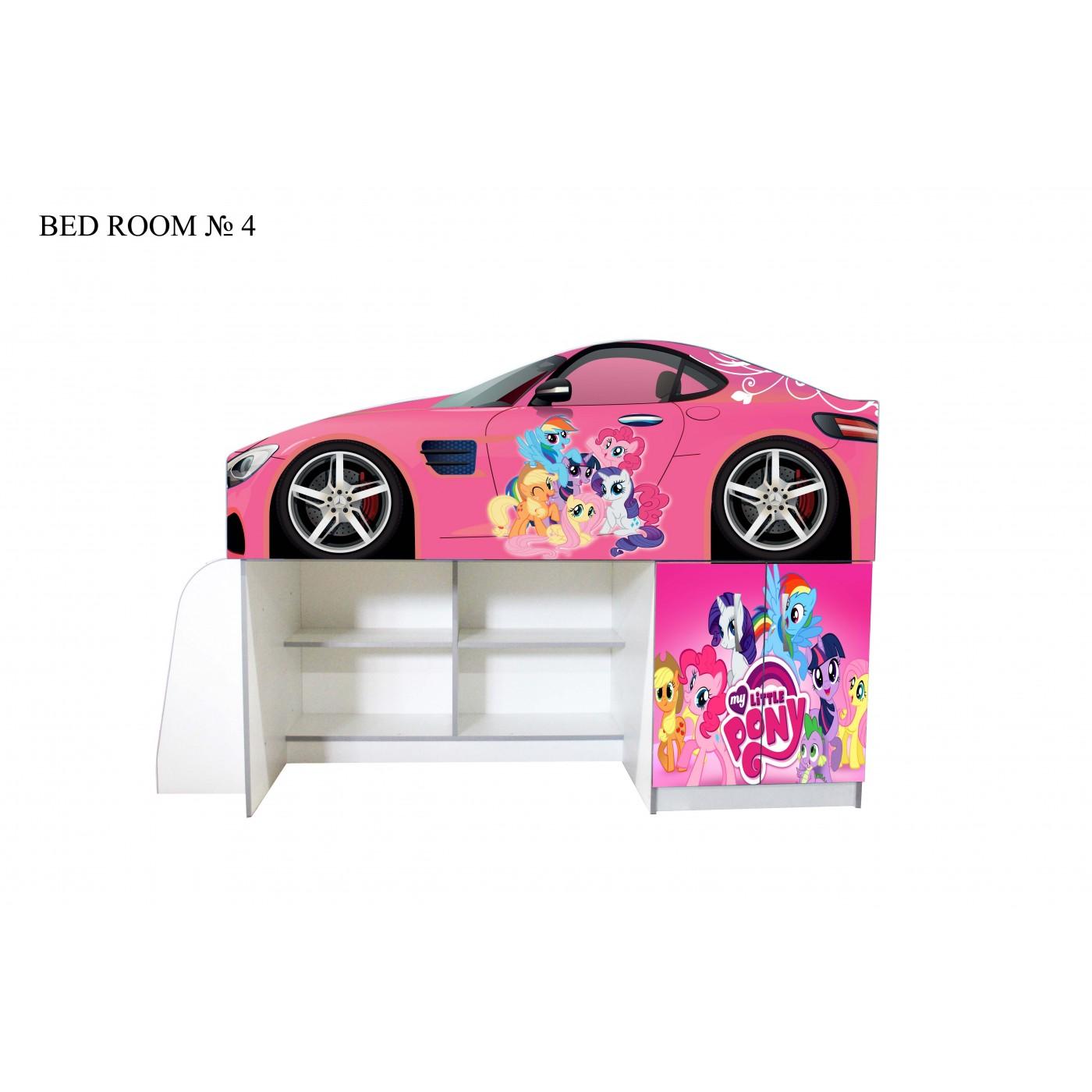 Детские кровати серии BAD ROOM №4