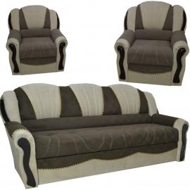 Лорд 2 (диван + 2 раскл. кресла,   ламель, кант)