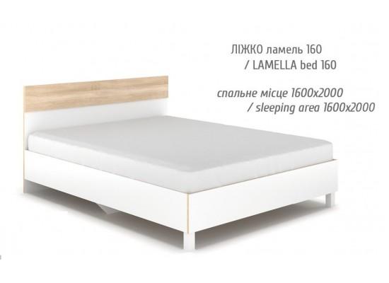 Глория Кровать 160 (без ламелей)