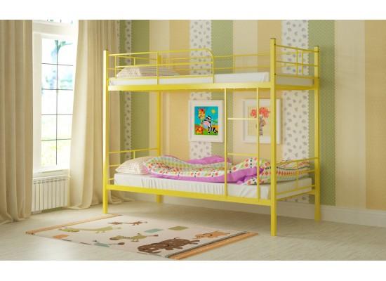 Кровать двухъярусная металлическая Эмма