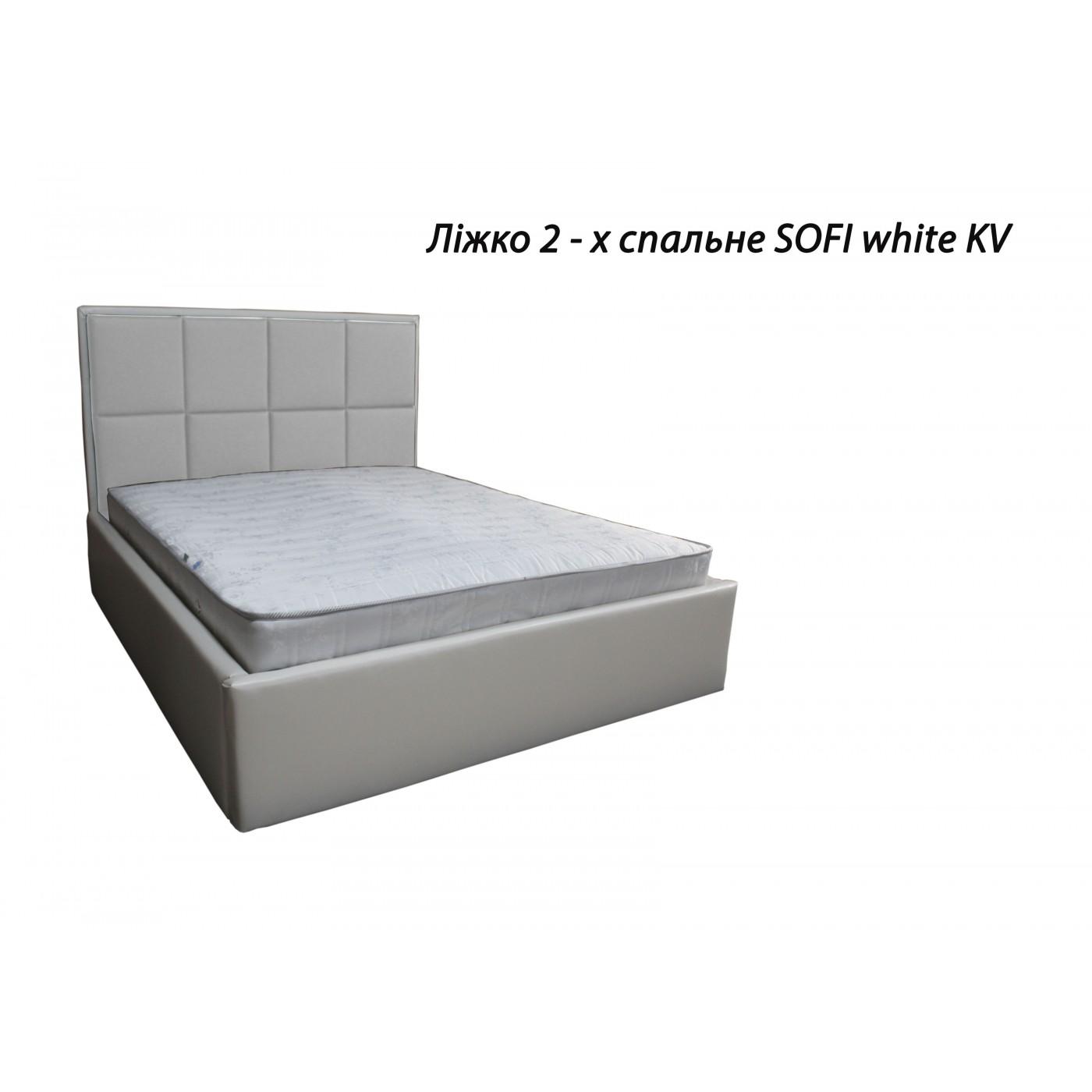 Кровать 2-х спальная SOFI + тумба