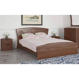 Кровать ЭМИЛИЯ с газовыми подьемниками и металлическим каркасом