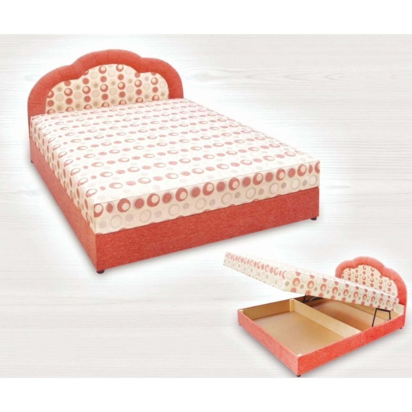 Кровать Корона (1.4 , пр. бл.)