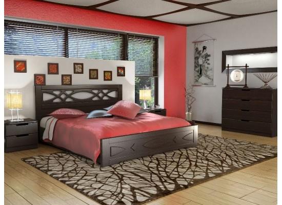 Кровать ЛИАНА с  пружинным подьемным механизмом