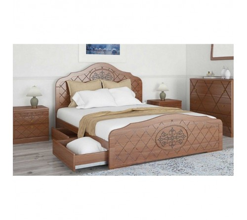 Кровать ЛЮЧИЯ с ящиками