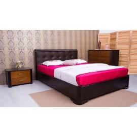 Кровать Милена с мягкой спинкой квадраты квадраты