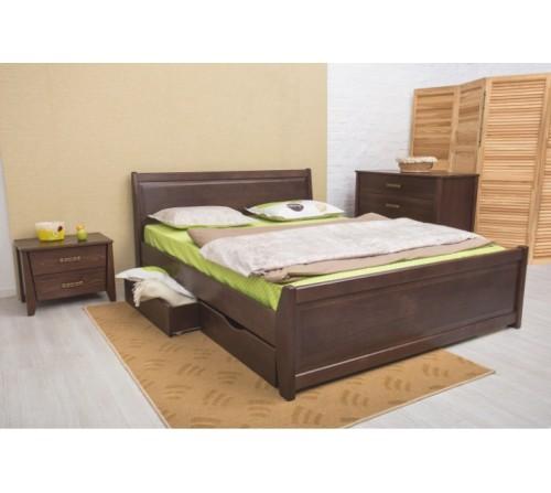 Кровать Сити с филенкой и ящиками
