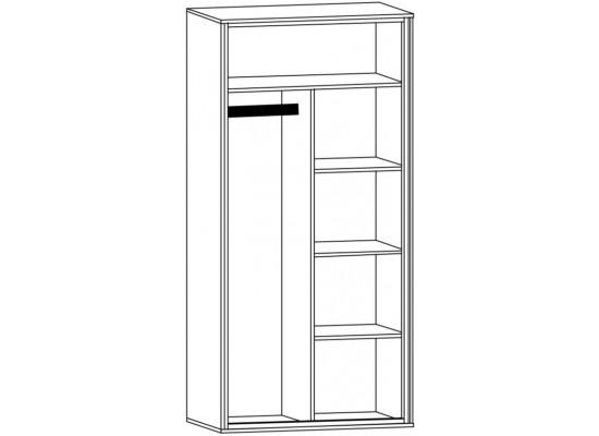 Велс Шкаф 2Д