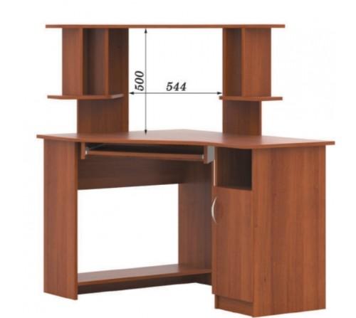 Стол компьютерный с надстройкой СКУ - 06 + Н - 12