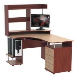 Стол компьютерный с надстройкой СКУ - 11 + Н - 20