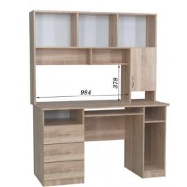 Стол компьютерный с надстройкой СПК - 03 + Н - 13