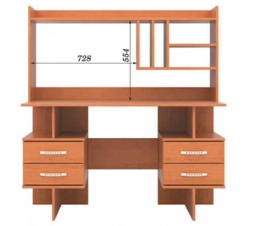 Стол письменный с надстройкой СП - 09 + Н - 03