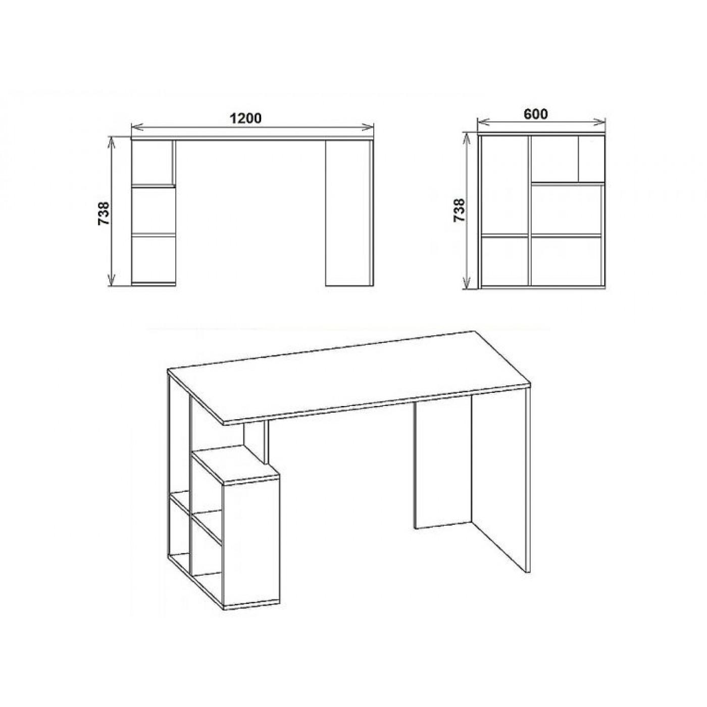 Ученик-3   стол письменный