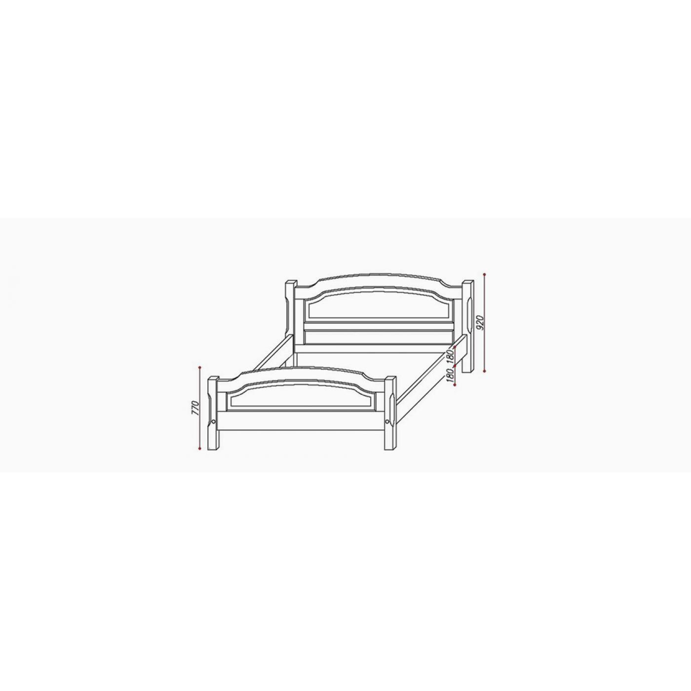 Кровать Прима без шаров