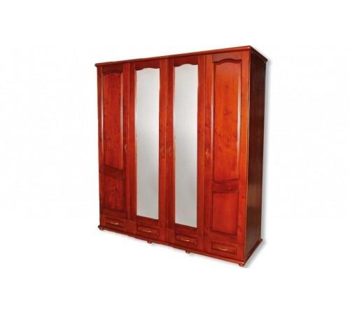 Шкаф 4-х створчатый