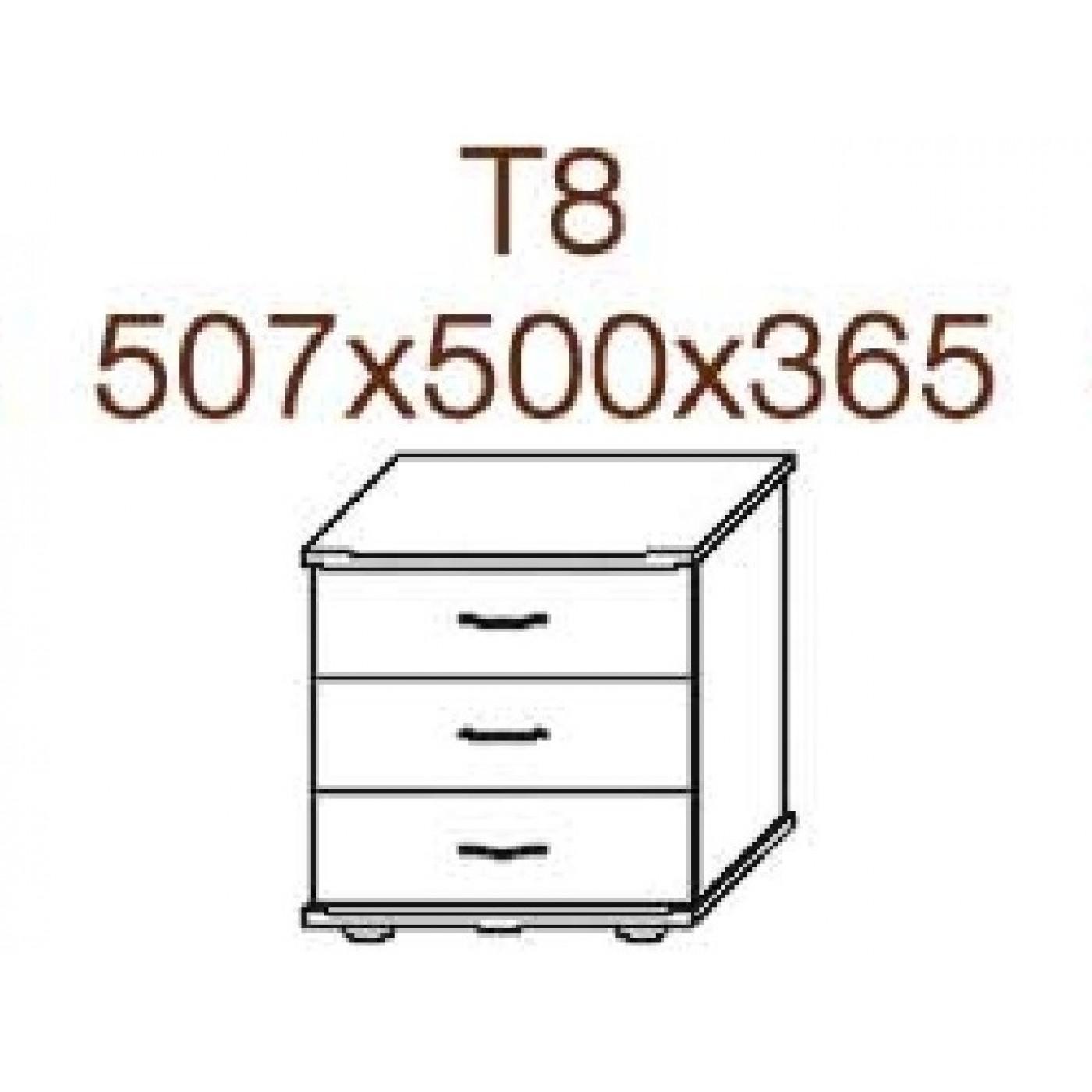 Тумбочка Т8