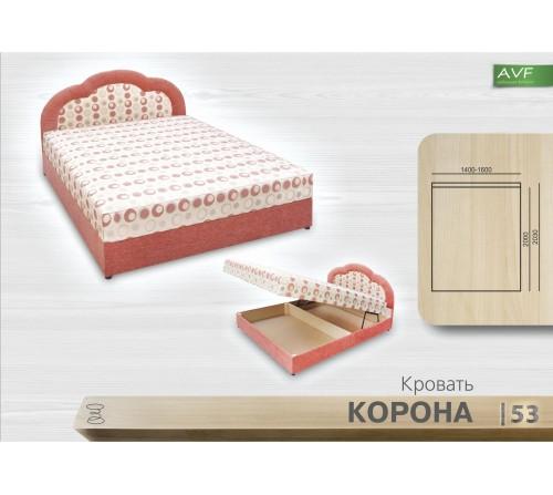 Кровать Корона (1.6 , пр. бл.)