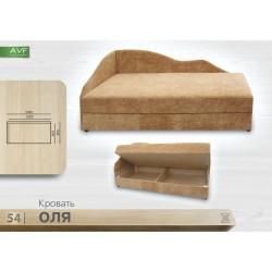 Кровать Оля (пружинный блок)