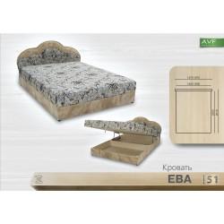 Кровать Ева (1.4 , пр. бл.)