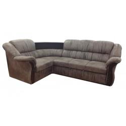 Угловой диван Глория 1 (классический, с раскладкой дельфин)